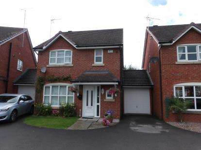 3 Bedrooms Link Detached House for sale in Spring Gardens, Wrexham, Wrecsam, LL11