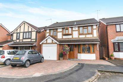 4 Bedrooms Detached House for sale in The Heathers, Evesham, Worcestershire, Evesham