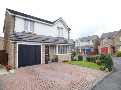 3 Bedrooms Detached House for sale in Greenbrook Road, Burnley, Lancashire