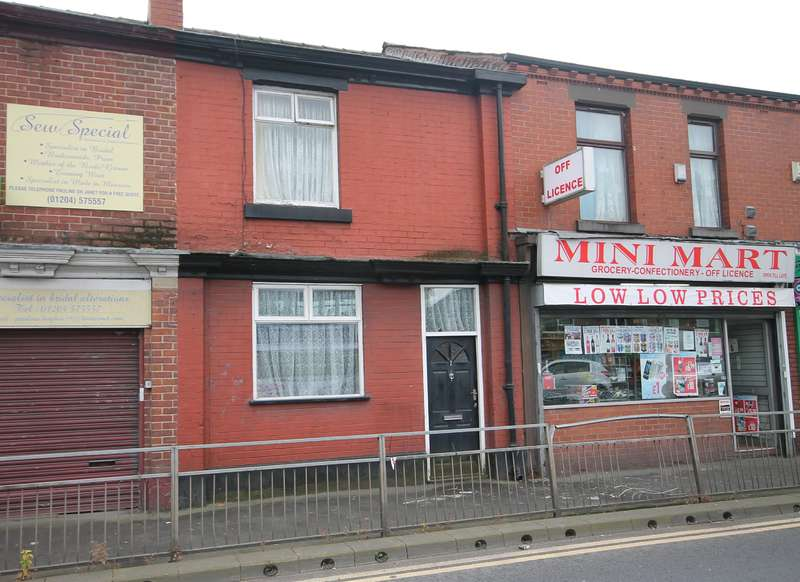 2 Bedrooms Terraced House for sale in Longcauseway, Farnworth, Bolton, BL4 9BS