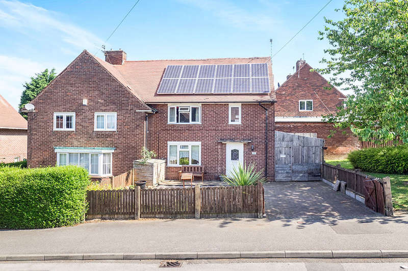 3 Bedrooms Semi Detached House for sale in Queens Road South, Eastwood, Nottingham, NG16