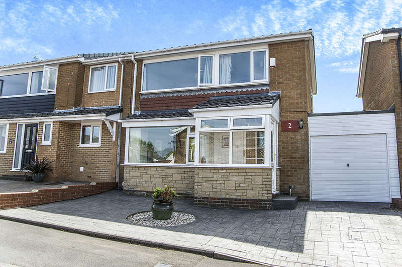 3 Bedrooms Detached House for sale in Greystead Close, Chapel Park, Newcastle Upon Tyne, NE5