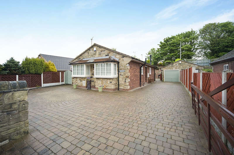 2 Bedrooms Detached Bungalow for sale in Quarrymead Rawfield Lane, Fairburn, Knottingley, WF11