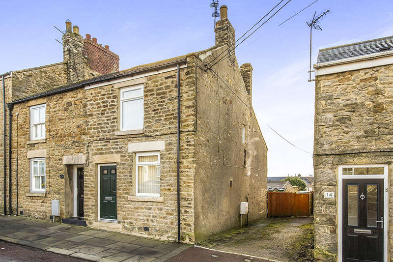 2 Bedrooms Terraced House for sale in Dans Castle, Tow Law, Bishop Auckland, DL13