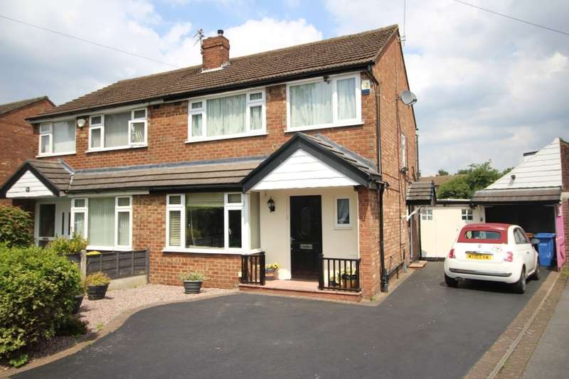 3 Bedrooms Semi Detached House for sale in Earle Road, Bramhall, Stockport, SK7