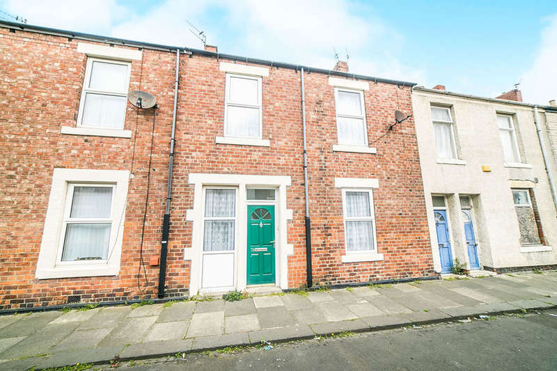 3 Bedrooms Terraced House for sale in Disraeli Street, Blyth, NE24