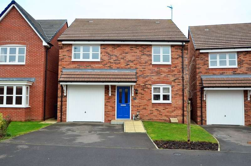 4 Bedrooms House for sale in Teeswater Close, Long Lawford, Rugby