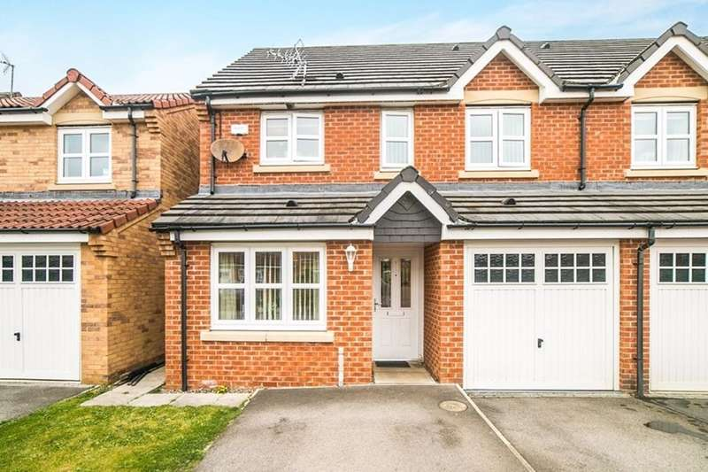 3 Bedrooms Semi Detached House for sale in The Brambles, New Hartley, Whitley Bay, NE25