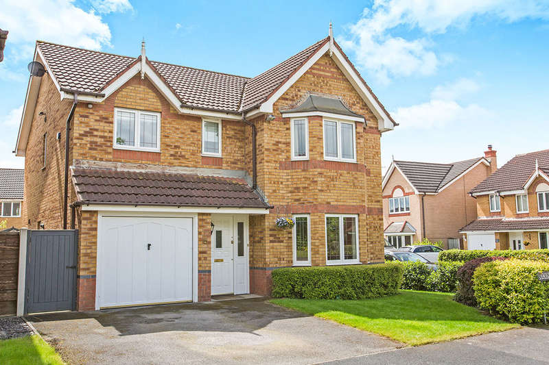 4 Bedrooms Detached House for sale in Buckingham Close, Congleton, CW12