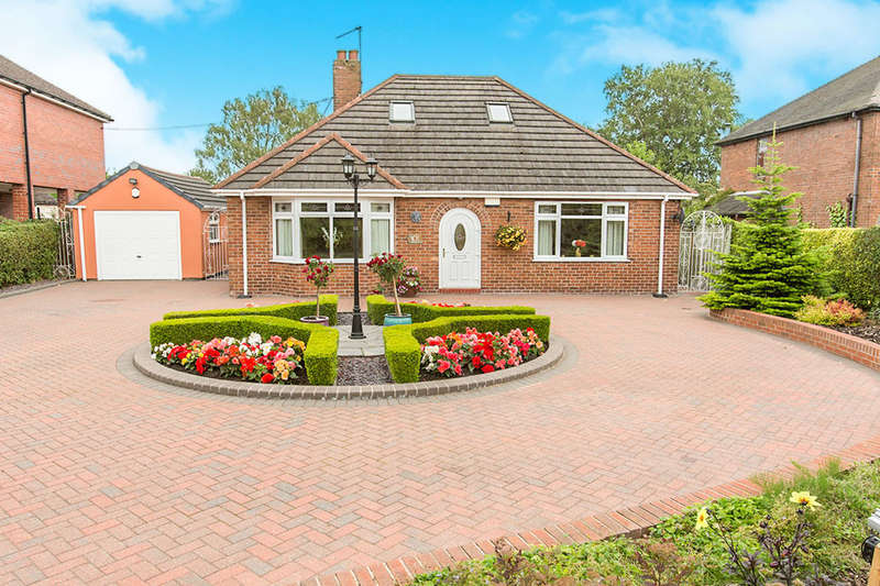 3 Bedrooms Detached Bungalow for sale in Park Lane, Knypersley, Stoke-On-Trent, ST8