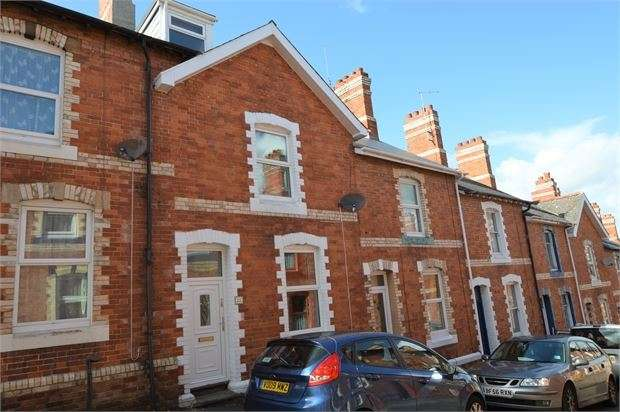 3 Bedrooms Terraced House for sale in Beaumont Road, Newton Abbot, Devon. TQ12 1BB