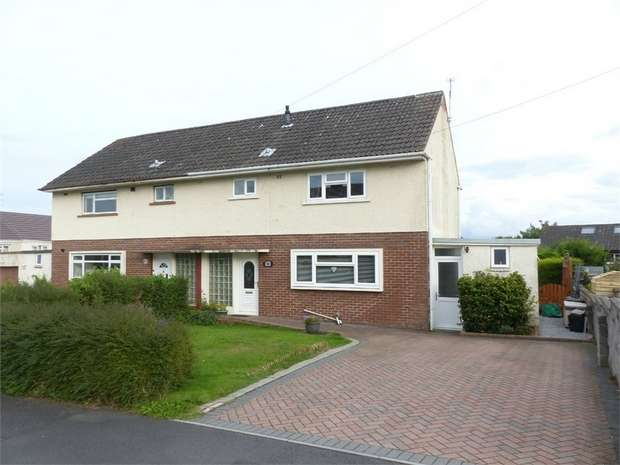 3 Bedrooms Semi Detached House for sale in Elizabeth Road, Cefn Glas, Bridgend, Mid Glamorgan