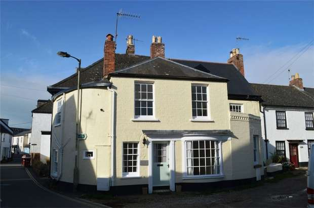 2 Bedrooms Semi Detached House for sale in 2 Bridge Cottages, Lympstone Village