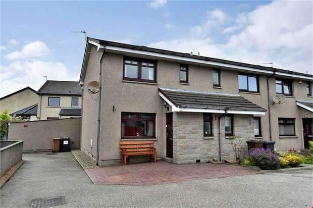 3 Bedrooms End Of Terrace House for sale in 199 Victoria Street, Dyce, Aberdeen