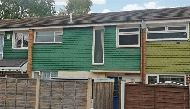 3 Bedrooms Terraced House for sale in Ramsey Close, West Bromwich, West Midlands