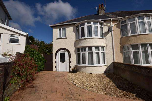 3 Bedrooms Semi Detached House for sale in Redburn Road, Paignton, Devon