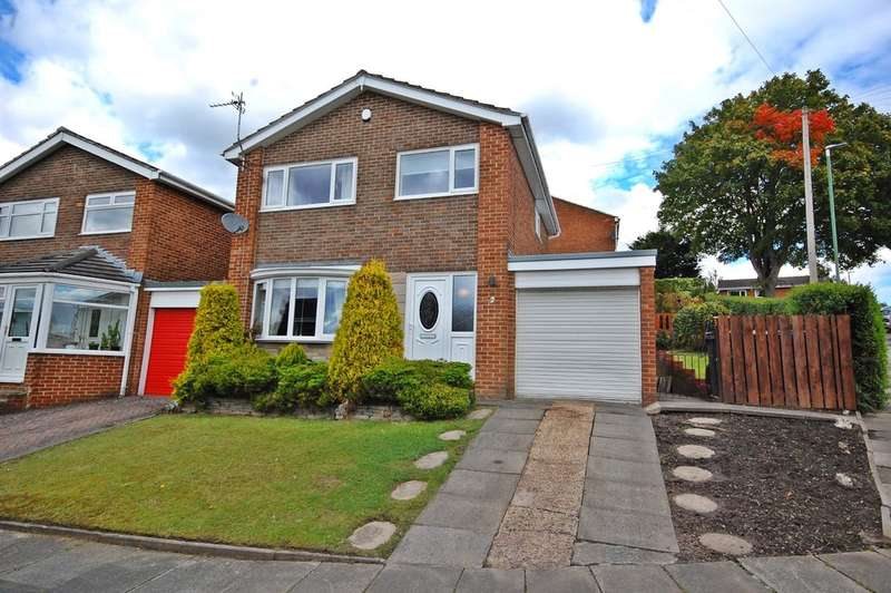 3 Bedrooms Semi Detached House for sale in Staindrop Road, Newton Hall, Durham