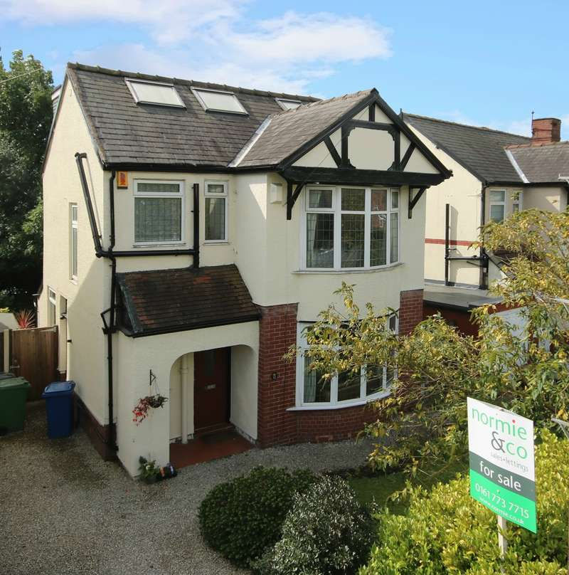 5 Bedrooms Detached House for sale in Scholes Lane, Prestwich, Manchester, M25