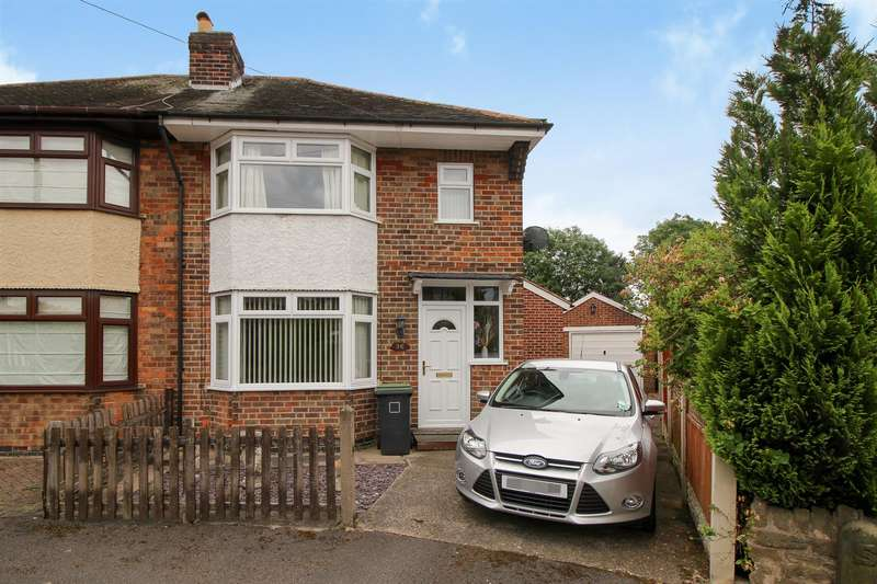3 Bedrooms Semi Detached House for sale in Audon Avenue, Chilwell, Nottingham