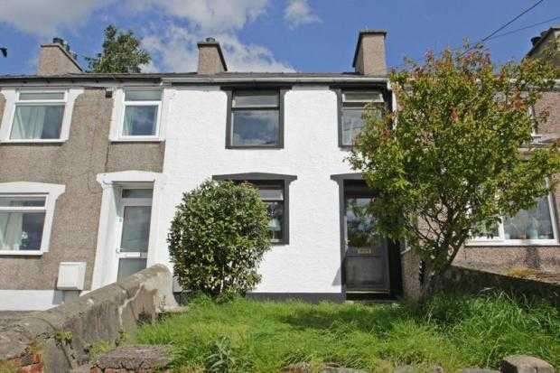 1 Bedroom Terraced House for sale in Bryn Derwen Terrace, Caernarfon