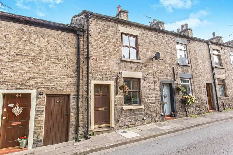 2 Bedrooms Terraced House for sale in Water Street, Bollington, Macclesfield, SK10