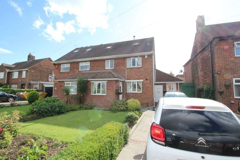 4 Bedrooms Semi Detached House for sale in Woodland Avenue, Goole, DN14