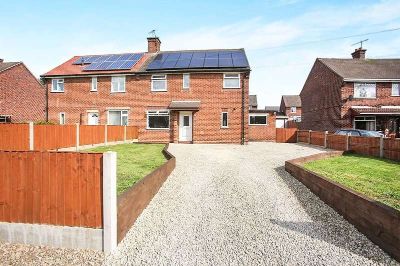 3 Bedrooms Semi Detached House for sale in Green Avenue, Barnton, Northwich, CW8