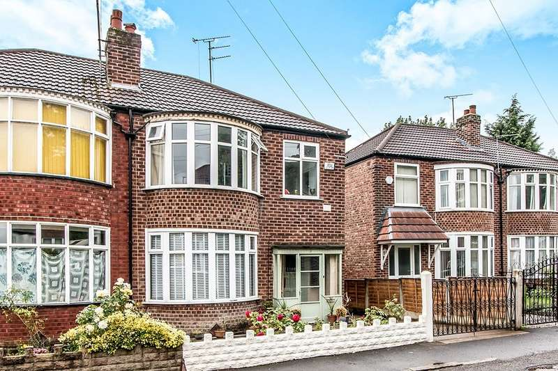 3 Bedrooms Semi Detached House for sale in Oakway, Didsbury, Manchester, M20