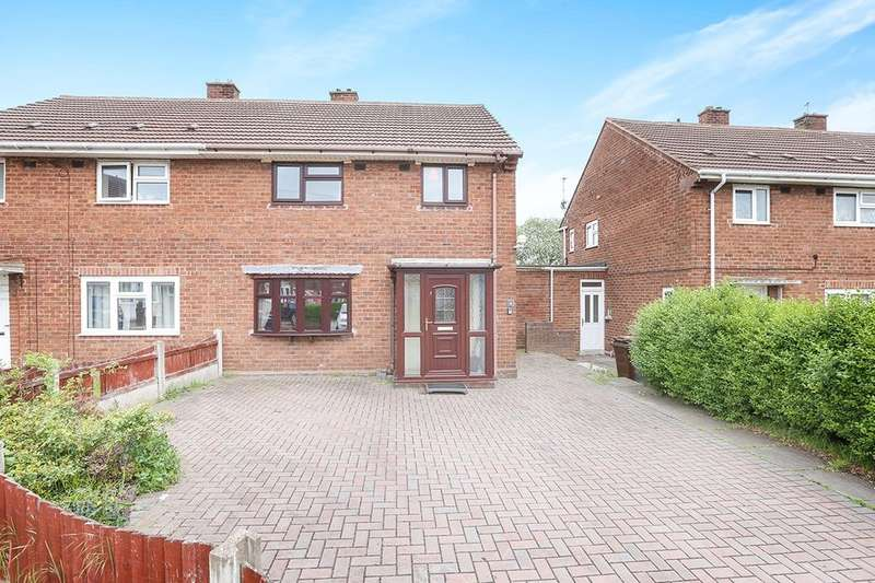 3 Bedrooms Semi Detached House for sale in Rough Hills Close, Wolverhampton, WV2
