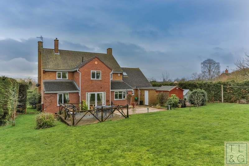 4 Bedrooms Detached House for sale in Malinshill Road, Evesham