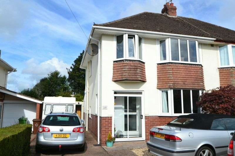 3 Bedrooms House for sale in TOLLARDS ROAD, COUNTESS WEAR, EXETER, DEVON