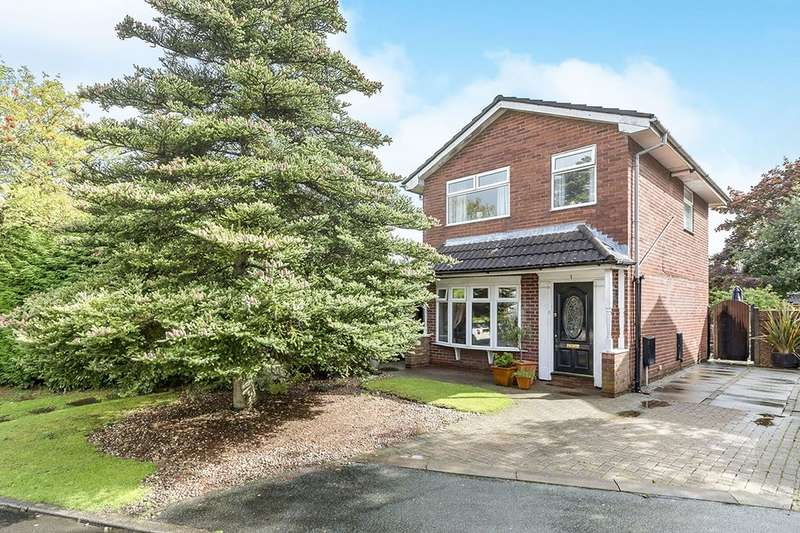 3 Bedrooms Detached House for sale in Renwick Square, WIGAN, WN4