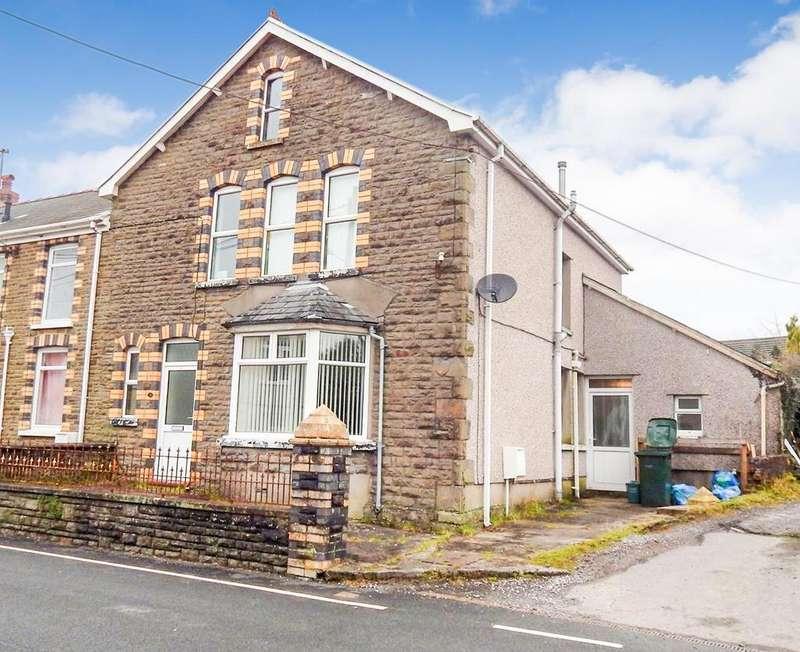 4 Bedrooms Semi Detached House for sale in Llandeilo Road, Upper Brynamman, Ammanford