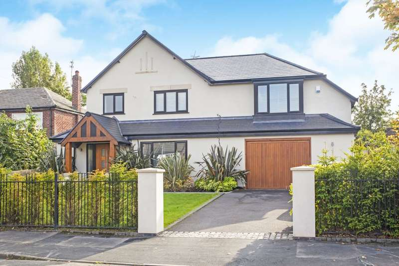 5 Bedrooms Detached House for sale in Kingsley Avenue, Wilmslow, Cheshire SK9 4EN