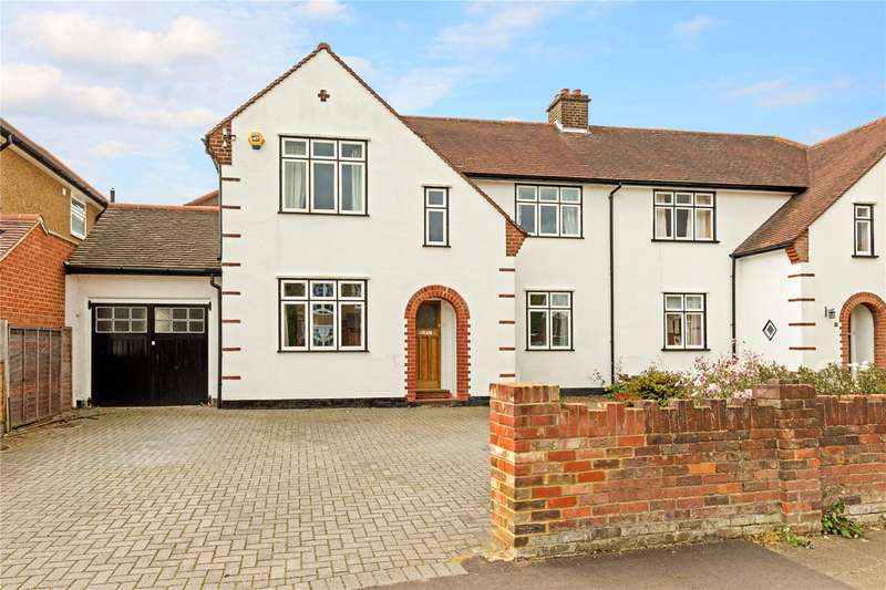 4 Bedrooms Semi Detached House for sale in Lancaster Road, St. Albans, Hertfordshire, AL1