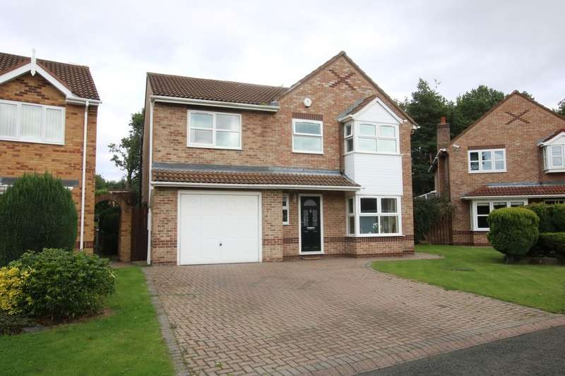 4 Bedrooms Detached House for sale in Ovingham Close, Washington, NE38