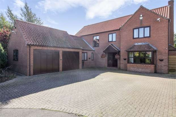 5 Bedrooms Detached House for sale in Holly Court, Rolleston, Newark, Nottinghamshire