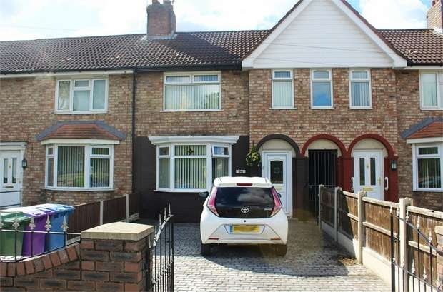 3 Bedrooms Terraced House for sale in Lower House Lane, Liverpool, Merseyside