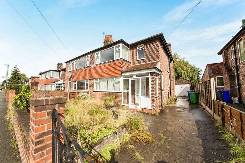 3 Bedrooms Semi Detached House for sale in Queensway, East Didsbury , Manchester, M19