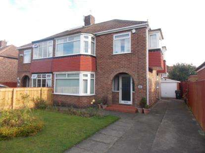 3 Bedrooms Semi Detached House for sale in Lunedale Avenue, Middlesbrough