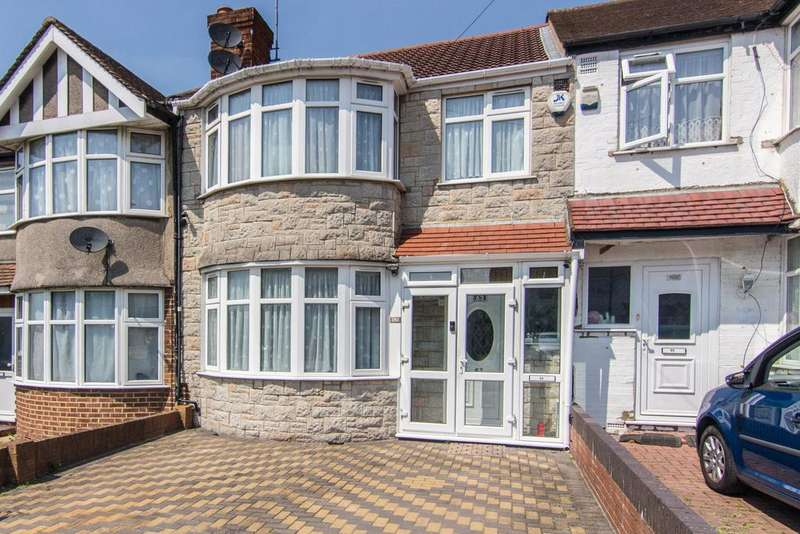 3 Bedrooms House for sale in Hillside Road, Southall
