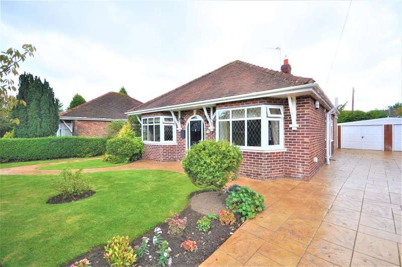 3 Bedrooms Detached Bungalow for sale in Leander Gardens, Poulton Le Fylde, Lancashire, FY6 8AZ