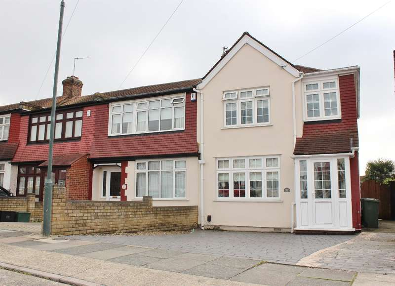 3 Bedrooms End Of Terrace House for sale in Amberley Road, Upper Abbeywood, London, SE2 0SG