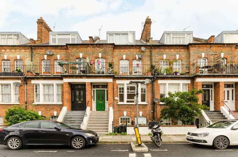 3 Bedrooms Flat for sale in Margravine Gardens, Barons Court, W6