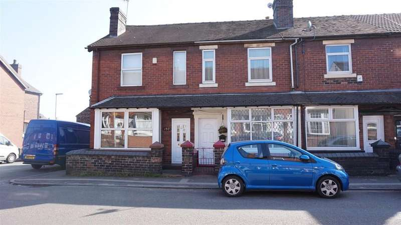 2 Bedrooms Terraced House for sale in Dimsdale Parade West, Wolstanton, Newcastle, Staffs