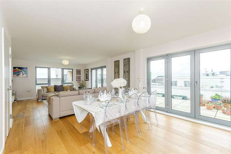 2 Bedrooms Penthouse Flat for sale in Glenalmond Avenue, Cambridge