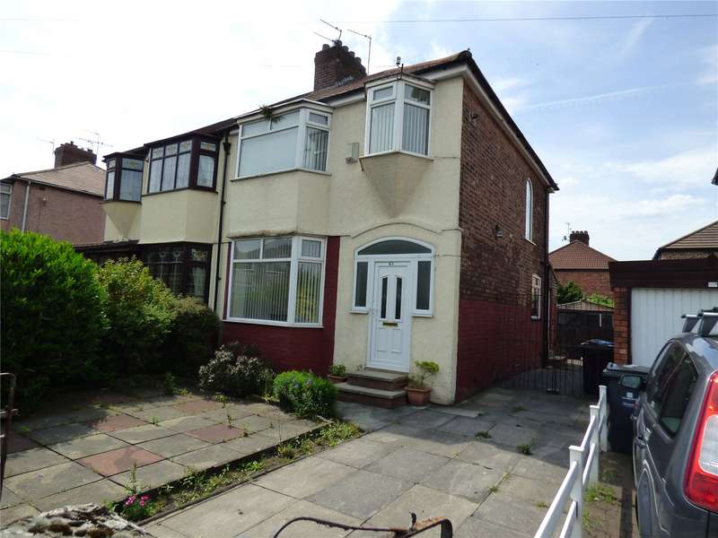 3 Bedrooms Semi Detached House for sale in Pilch Lane East, Liverpool, Merseyside, L36
