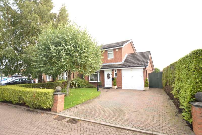 3 Bedrooms Detached House for sale in Bunbury Close, Middlewich, CW10