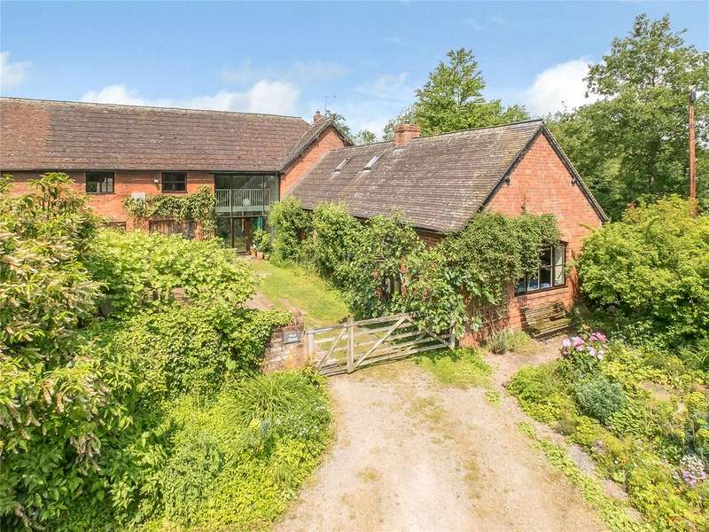 4 Bedrooms Barn Conversion Character Property for sale in Squirrel Lane, Ledwyche, Ludlow, Shropshire