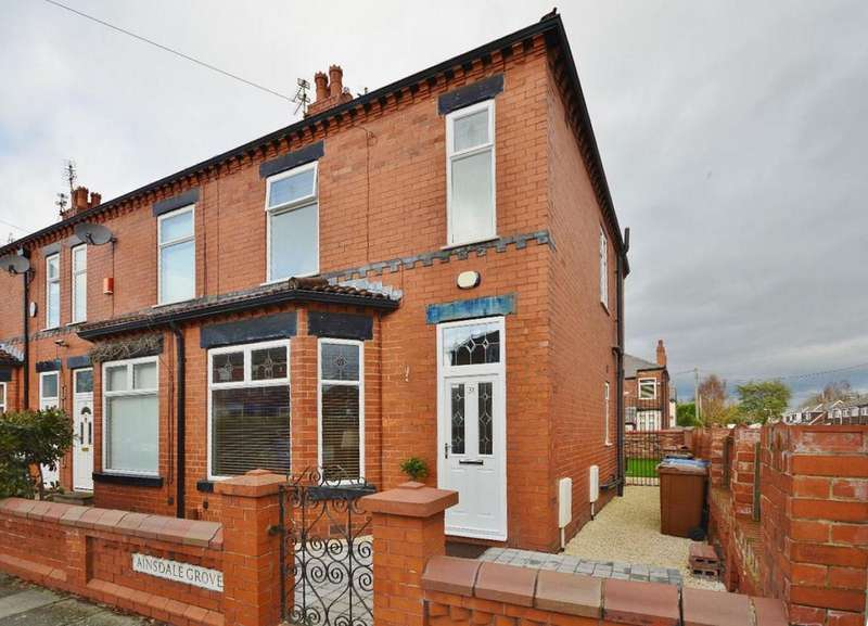 3 Bedrooms End Of Terrace House for sale in Ainsdale Grove, Reddish